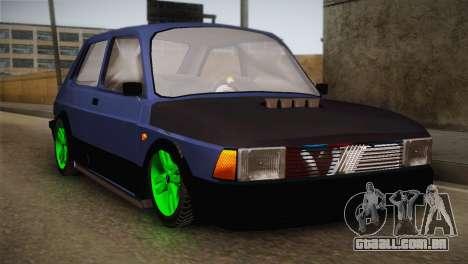 Fiat 147 Tuning para GTA San Andreas