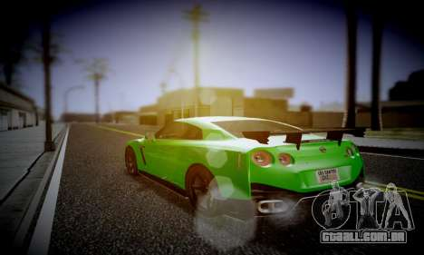 Blacks Med ENB para GTA San Andreas terceira tela