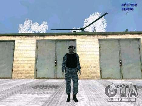 O lutador OMON para GTA San Andreas segunda tela