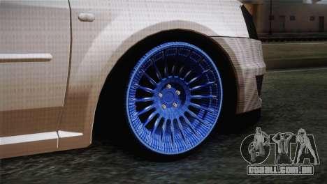 Dacia Logan Most Wanted Edition v3 para GTA San Andreas traseira esquerda vista