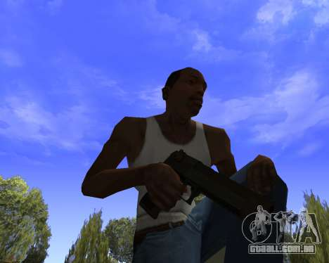 Skins Weapon pack CS:GO para GTA San Andreas por diante tela