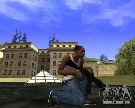 Skins Weapon pack CS:GO para GTA San Andreas décimo tela