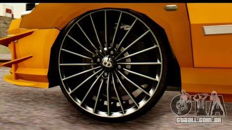 Peugeot 407 Sport Taxi para GTA San Andreas vista direita