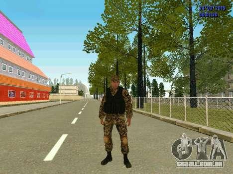 Setas milícia DND para GTA San Andreas