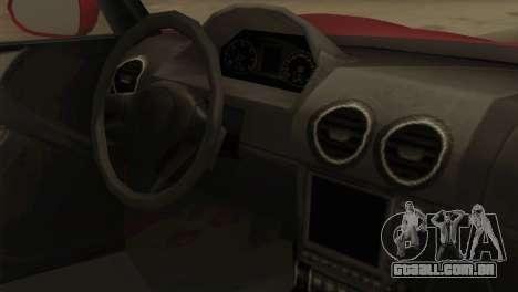 GTA 5 Coil Voltic v2 para GTA San Andreas vista direita