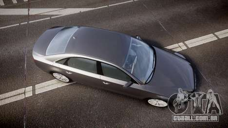 Audi A8 L 4.2 FSI quattro para GTA 4 vista direita