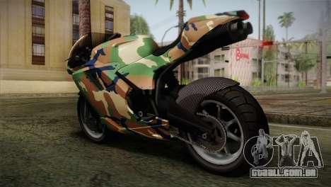 GTA 5 Bati MIX para GTA San Andreas esquerda vista
