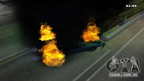 Burning Car para GTA San Andreas sexta tela