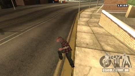 Misto de estilos de luta para GTA San Andreas quinto tela
