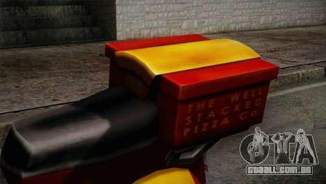 Original Pizzaboy IVF para GTA San Andreas vista traseira