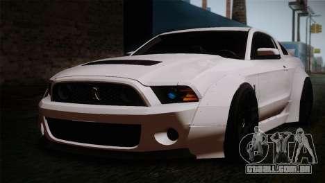 Ford Shelby GT500 RocketBunny SVT Wheels para GTA San Andreas