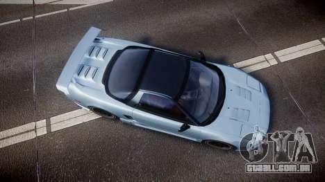 Honda NSX 1998 [EPM] para GTA 4 vista direita