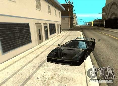 ENB Reflexões sobre carros para GTA San Andreas quinto tela
