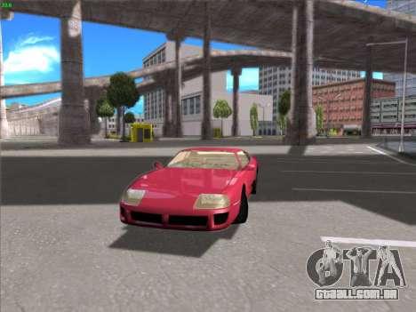 High Definition Graphics para GTA San Andreas segunda tela