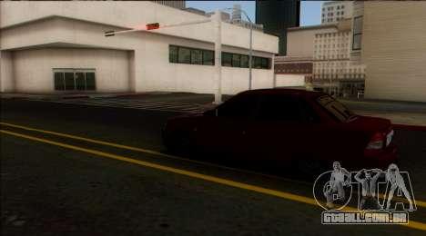 VAZ 2170 Cáspio Carga para GTA San Andreas vista traseira