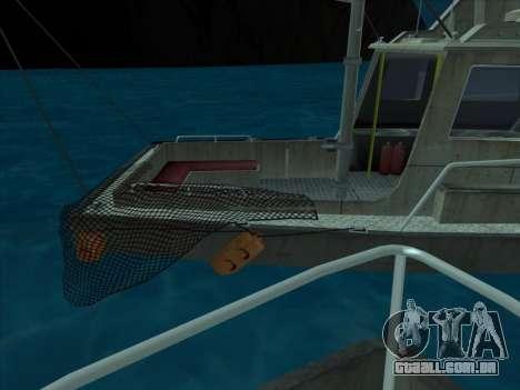 Reefer из GTA 3 para GTA San Andreas vista direita
