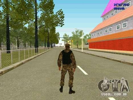 Setas milícia DND para GTA San Andreas quinto tela