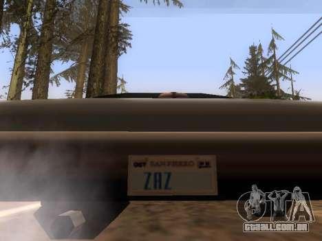 SilentPatch 1.1 para GTA San Andreas segunda tela