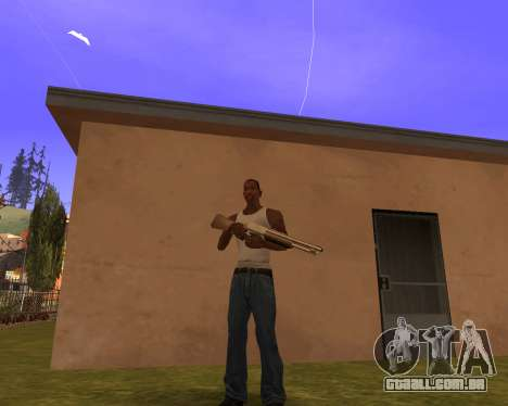 New Animation by EazyMo para GTA San Andreas por diante tela