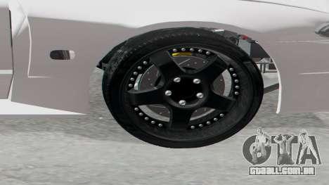 Elegy Facelift S15 para GTA San Andreas traseira esquerda vista
