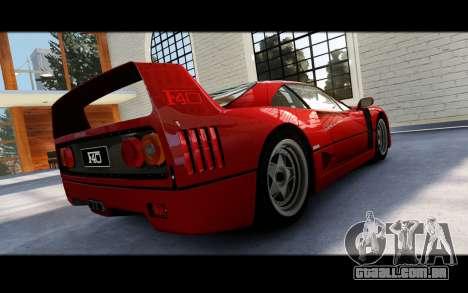 Forza Motorsport 5 Garage para GTA 4 décimo tela