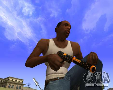 Skins Weapon pack CS:GO para GTA San Andreas