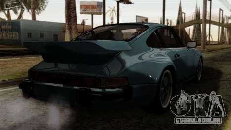 Porsche 911 Turbo 3.3 Coupe 930 1981 para GTA San Andreas esquerda vista