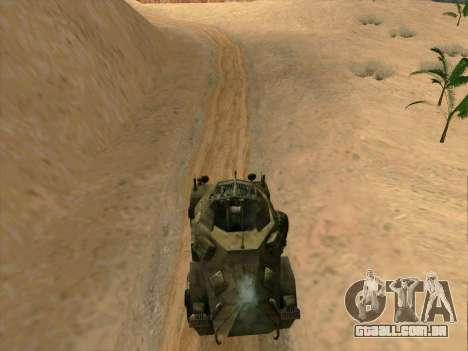 SdKfz.222 para GTA San Andreas esquerda vista