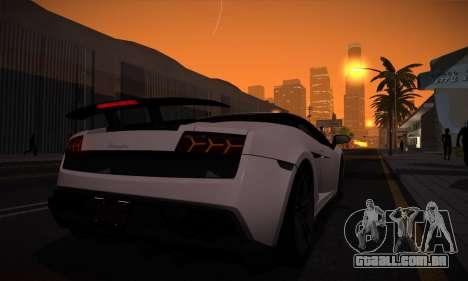 ENB por Dmitriy30rus para PC fraco para GTA San Andreas por diante tela