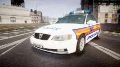 Vauxhall Omega Metropolitan Police [ELS] para GTA 4