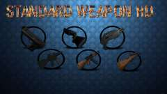 Standard HD Weapon Pack para GTA San Andreas