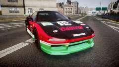 Honda NSX 1998 [EPM] castrol para GTA 4