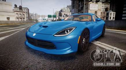 Dodge Viper SRT 2013 rims2 para GTA 4
