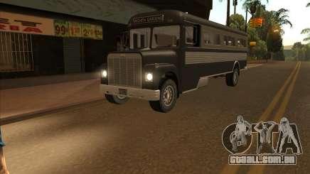 Ônibus из GTA 3 para GTA San Andreas
