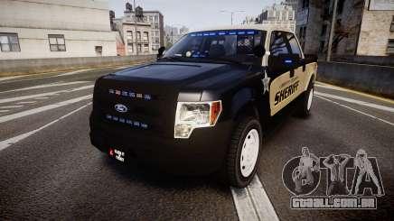 Ford F150 Liberty County Sheriff [ELS] Slicktop para GTA 4