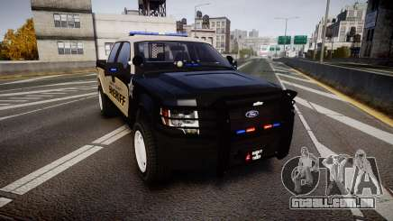Ford F150 2010 Liberty County Sheriff [ELS] para GTA 4