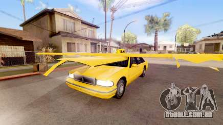 Alado táxi para GTA San Andreas