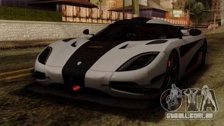 Koenigsegg One 1 para GTA San Andreas