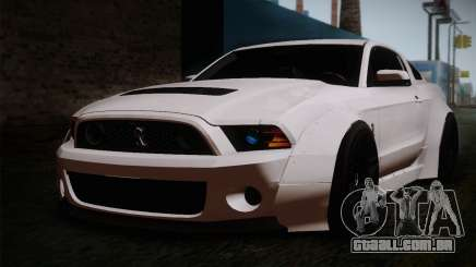 Ford Shelby GT500 RocketBunny SVT Wheels para GTA San Andreas