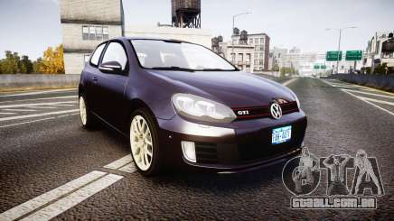 Volkswagen Golf Mk6 GTI rims2 para GTA 4