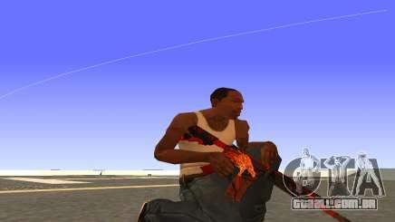 M4A4 Вой CS:GO para GTA San Andreas