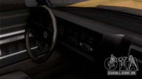 GTA 5 Invetero Coquette Classic HT IVF para GTA San Andreas vista direita