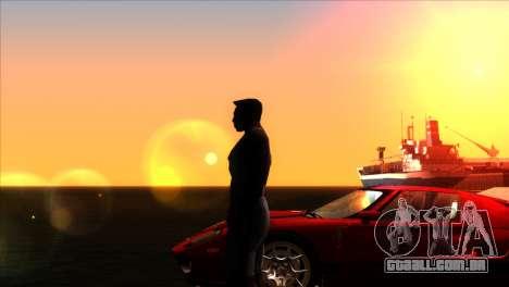ENBSeries para PC fraco v5 para GTA San Andreas quinto tela