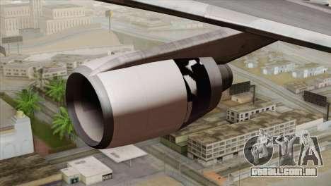 Lookheed L-1011 United Als para GTA San Andreas vista direita