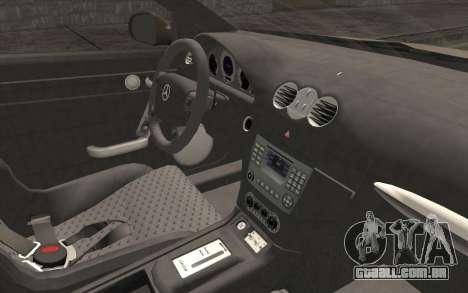 Mercedes-Benz CLK DTM 2004 para GTA San Andreas vista direita