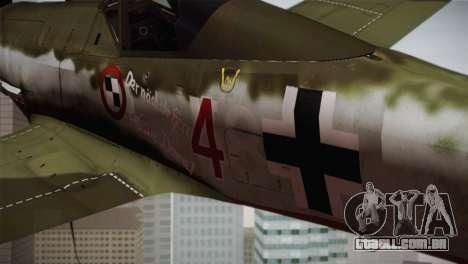 FW 190 D-11 Red 4 JV44 para GTA San Andreas vista direita