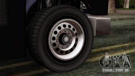 GTA 4 TLaD Prison Bus para GTA San Andreas traseira esquerda vista