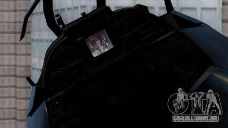 F-14 Japan Air Self Defense Force para GTA San Andreas vista direita