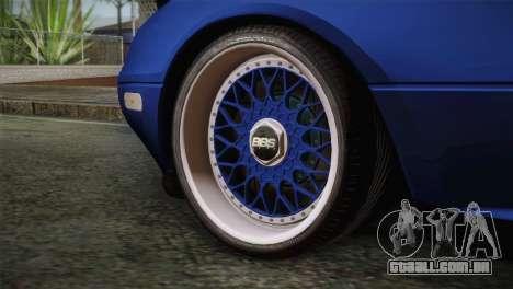 Mazda Miata Cabrio v2 para GTA San Andreas traseira esquerda vista