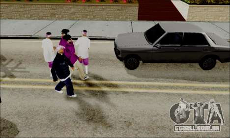ENB para baixa de PC para GTA San Andreas terceira tela